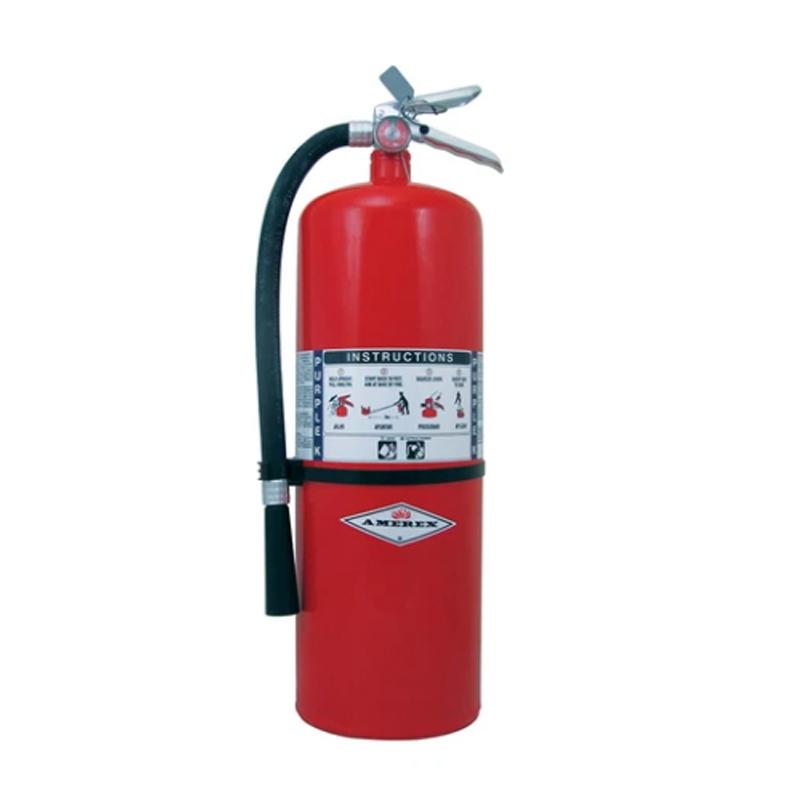 Amerex Fire Extinguisher Purple K Dry Chemical 20lb, Model A413 image