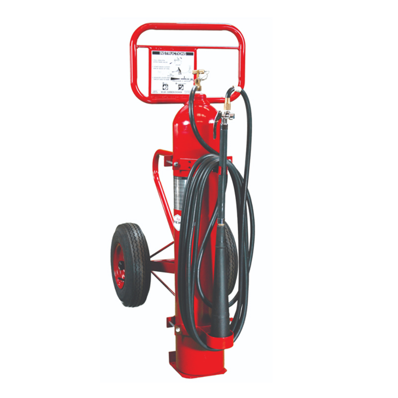 Amerex Wheeled Extinguisher CO2 100lb, Model 334 image