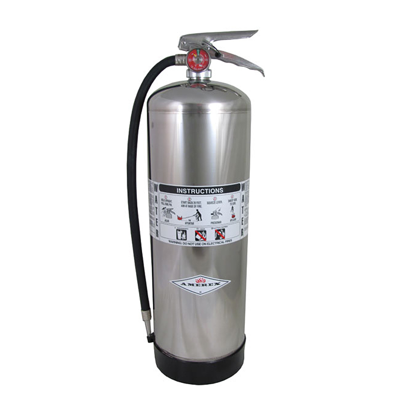Amerex Fire Extinguisher Water 2.5gl, w/wall hanger 2A, Model 240 image