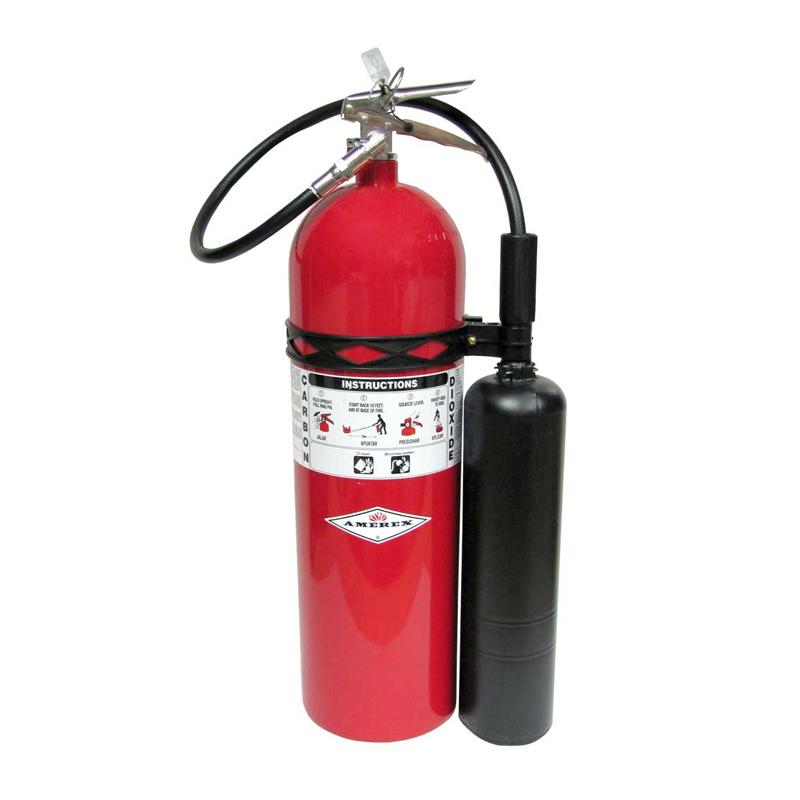 Amerex Fire Extingusher CO2 15lb, Model 331 image
