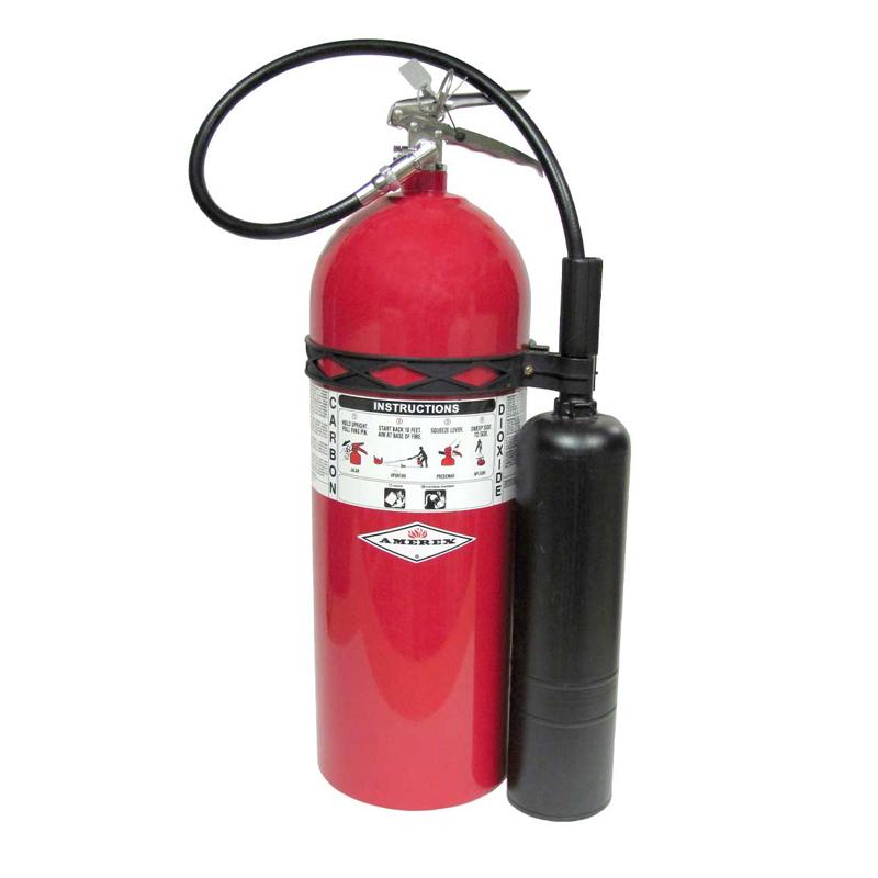 Amerex Fire Extingusher CO2 20lb, Model 332 image