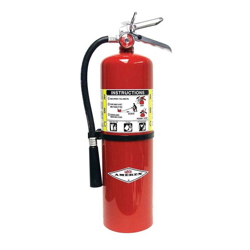 Amerex Fire Extingusher Dry Powder ABC 10Lb, Model B456 image