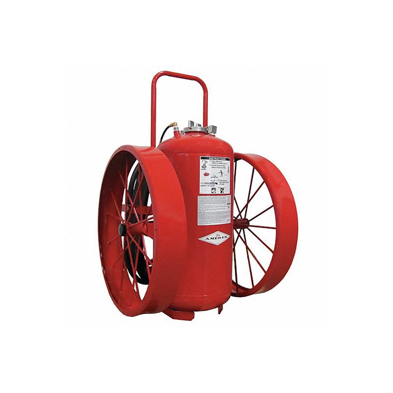 Amerex Wheeled Extinguisher Dry Chemical 300lb, Model 493 image