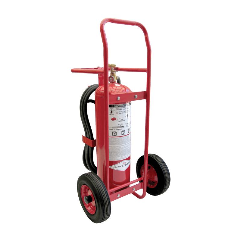 Amerex Wheeled Extinguisher Dry Chemical ABC 50lb, Model 495 image
