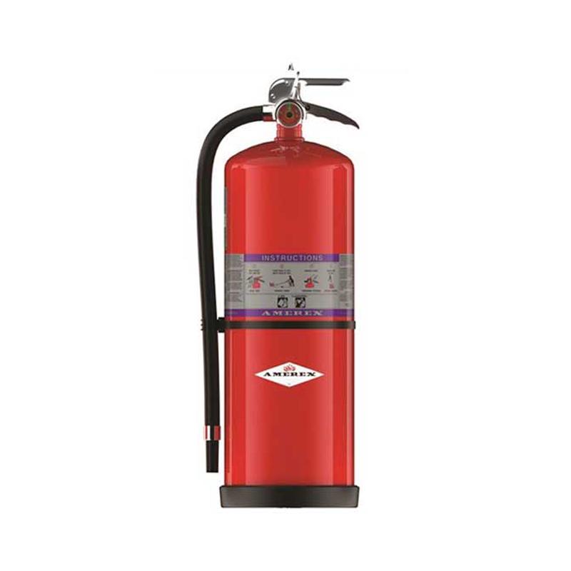 Fire Extinguisher, w/ Zinc Primer paint, Purple K, High Performance, Fast Flow, 30lbs, Model 796 image