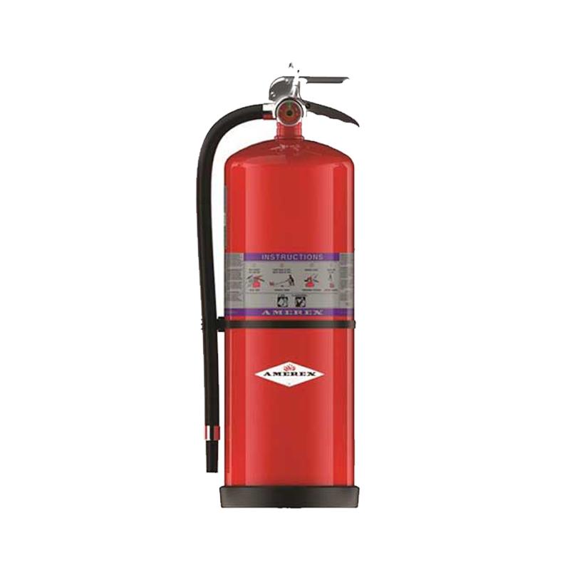 Fire Extinguisher, w/ Zinc Primer paint, Dry Powder ABC, High Performance, Fast Flow, 30lbs, Mod 792 image