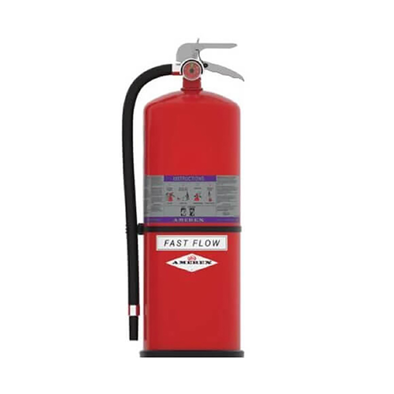 Amerex Zinc Primer Fast Flow Fire Extinguisher Dry Chemical ABC 20lb, Model 791 image