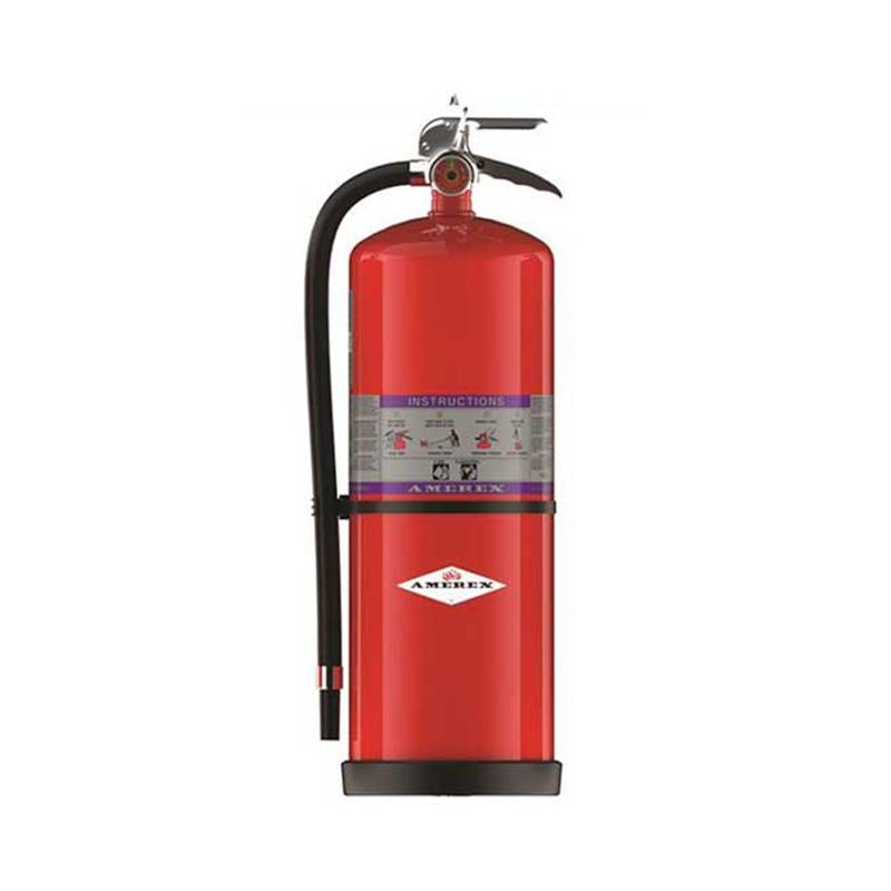 Amerex Zinc Primer Fast Flow Fire Extinguisher Purple K Dry Chemical  20lb, Model 794 image