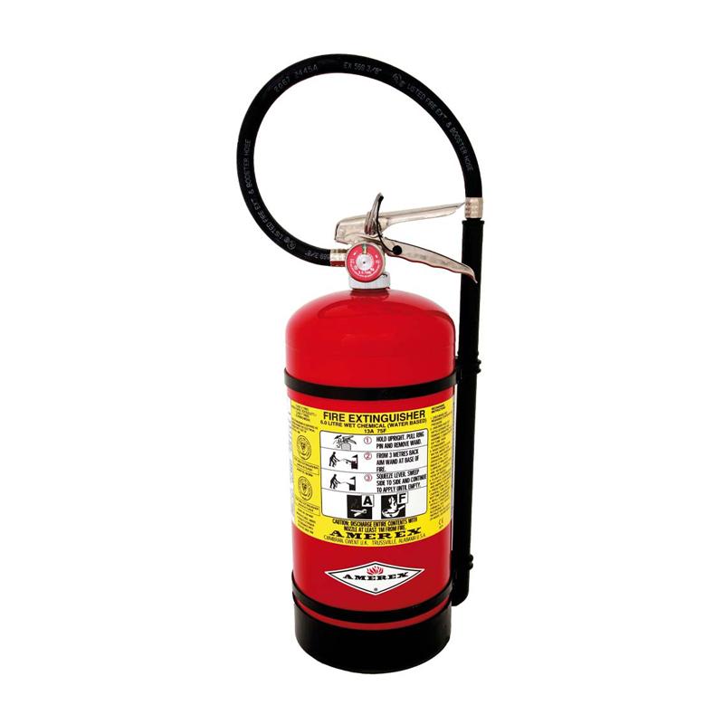 Amerex 6 Liter Wet Chemical Extinguisher Hose & Nozzle - K Type, Model B260 image
