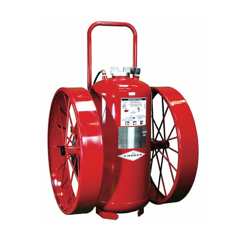Amerex Fire Extinguisher, 33 gal, Wheeled, Direct Pressure FFFP, 20A:160B, Model 630 image