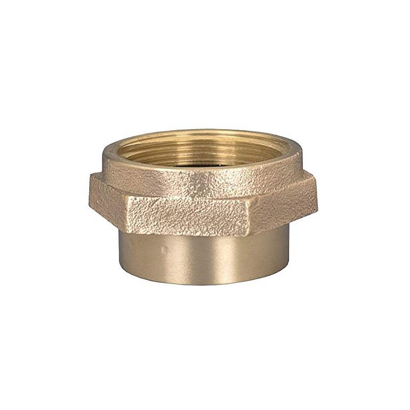 Dixon Double Female Hex Nipple Brass image