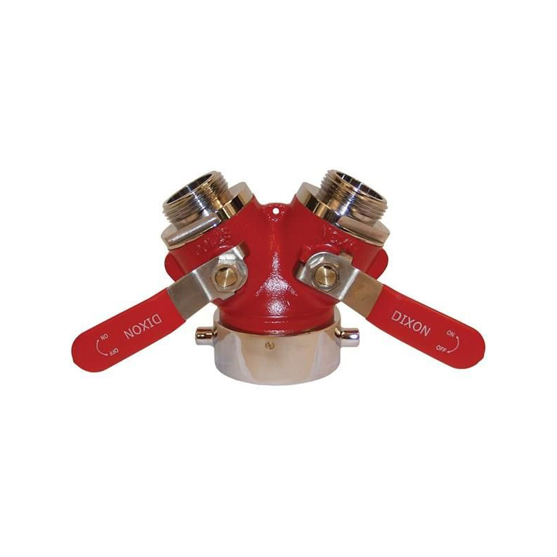 Wye Valve, 2.5 Female Nst Inlet x 1.5 Male Nst Outlet image