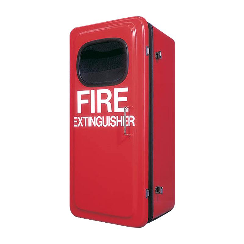 Fire Extinguisher Cabinet, Fiberglass 30-3/4'' x 14'' x 11-3/4'' image