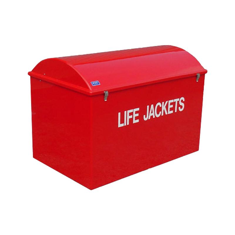 Life Jacket Cabinet, Fiberglass 35-1/2'' x 51-1/8'' x 31-1/2'' image