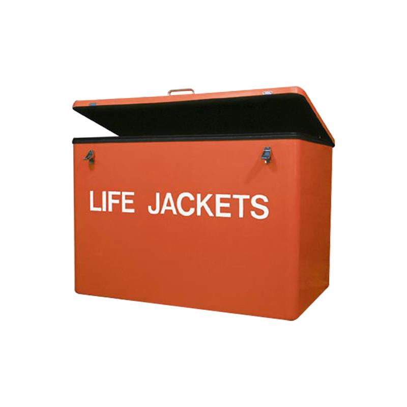 Life Jacket Cabinet, Fiberglass 37-1/2'' x 25-1/2'' x 24-3/4'' image