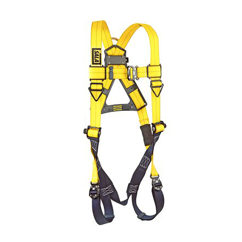 3M™ DBI-SALA® Delta Vest Style Full Body Harness, Navy/Yellow, Universal Size image