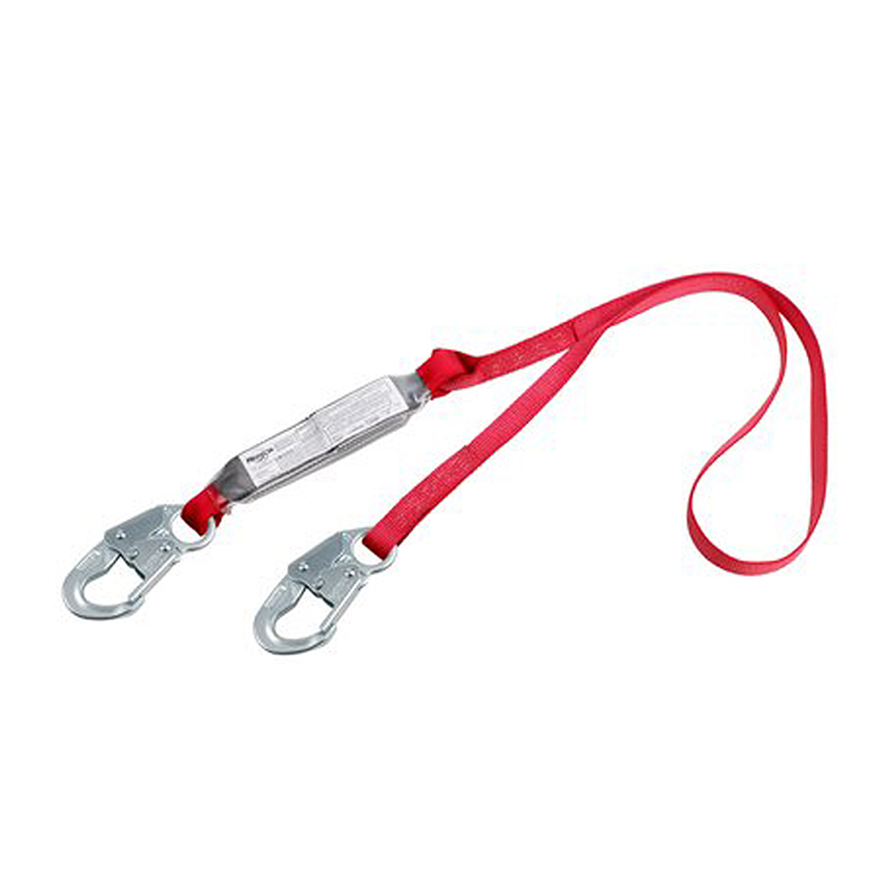 3M Protecta PRO Pack 6' Shock Absorbing Lanyard, w/Snap Hook At Each End, 310 lb image